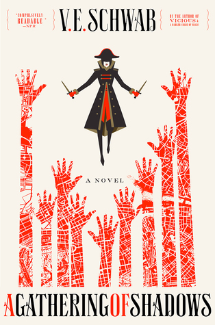 A Gathering of Shadows (A Darker Shade of Magic #2) by V.E. Schwab